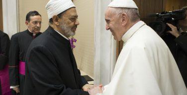 Папа Франциск встретился с верховным имамом Аль-Азхара