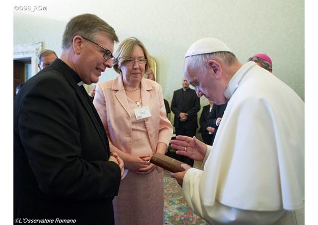 Папа Римский Франциск настаивает на важности постоянного диаконата