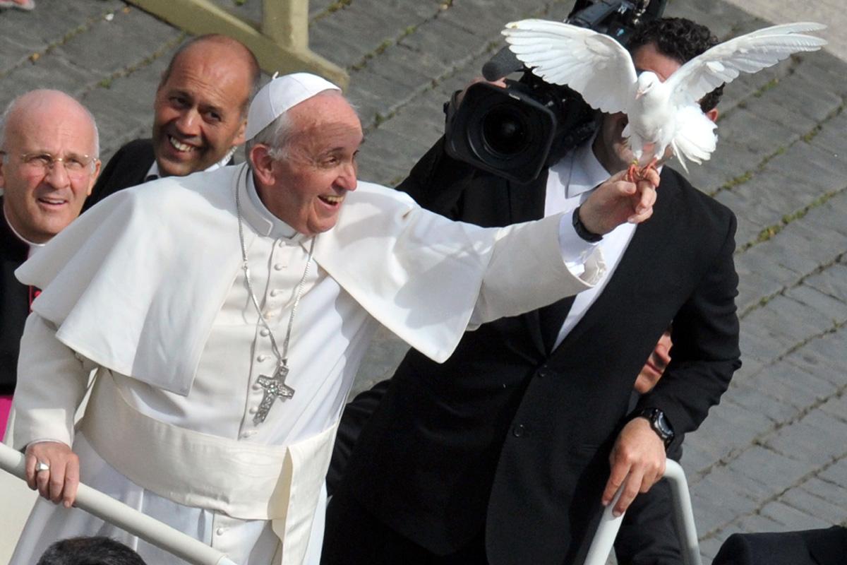 Обнародовано Послание Святейшего Отца Франциска на Всемирный день мира 2018 года