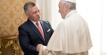 Папа Франциск обсудил с королем Абдаллой ситуацию вокруг Иерусалима