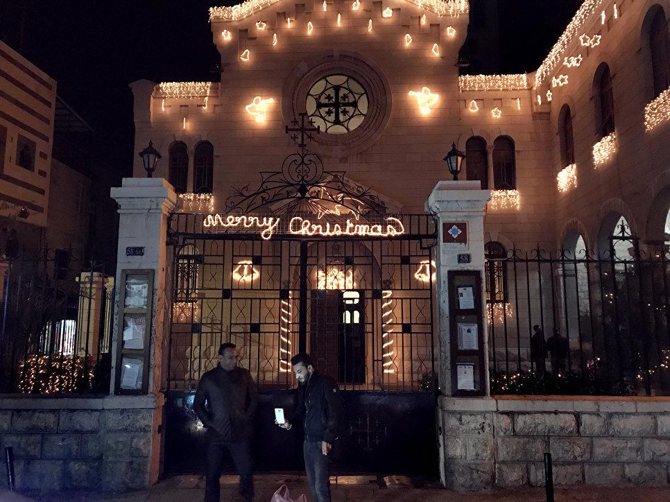 Рождество стало для сирийских христиан символом возрождения страны