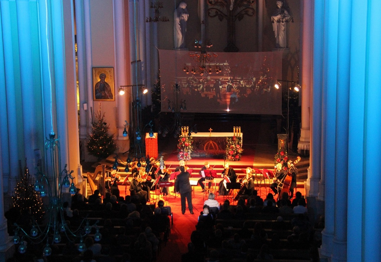 В Москве открылся Х Международный Рождественский фестиваль «Искусство добра»