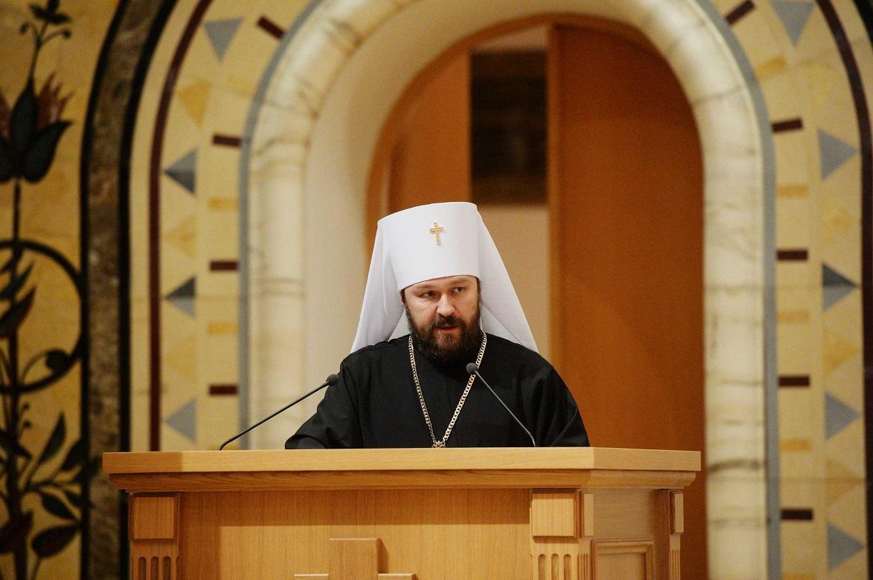 Митрополит Иларион выступил с комментарием в связи с распространением информации об обращении бывшего митрополита Киевского Филарета