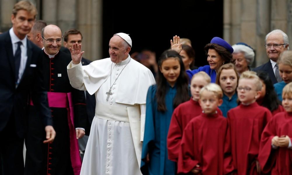 Папа – лютеранам: молитва – это топливо на пути к полному единству