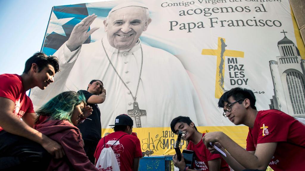 Видеопослание Папы Франциска накануне паломничества в Чили и Перу
