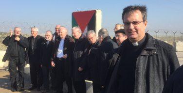 Епископы-делегаты из Координационного комитета Святой Земли посетили Сектор Газа (ФОТО)