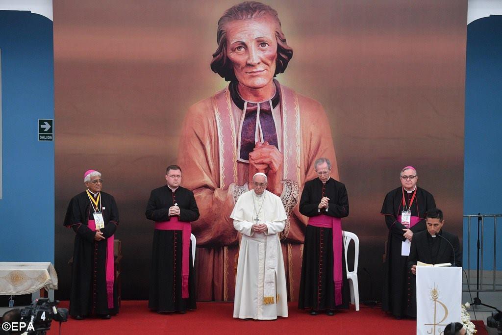 Папа — перуанскому духовенству: помнить о корнях своей веры (+ ФОТО)