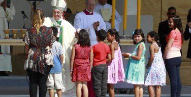Папа на Мессе в Сантьяго: блаженны те, кто трудятся ради будущего Чили (ФОТО)