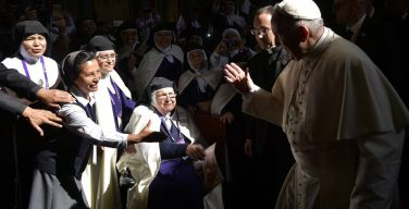 Папа — кармелиткам: откройте ваши сердца (+ ФОТО)