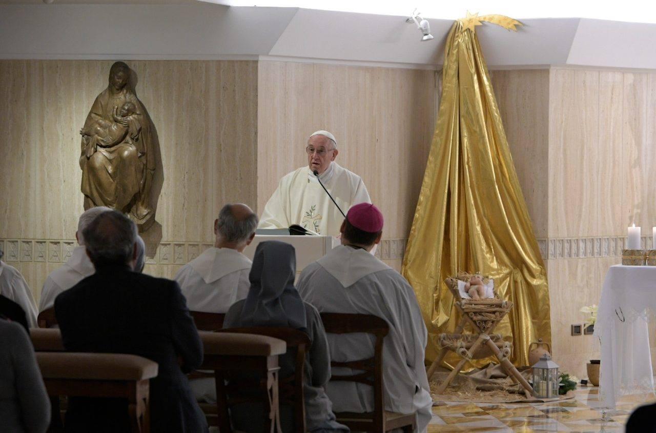 Папа: унижать слабых побуждает дьявол