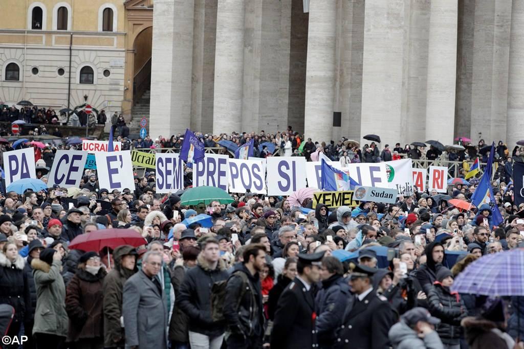 Община Святого Эгидия провела Марши в защиту мира
