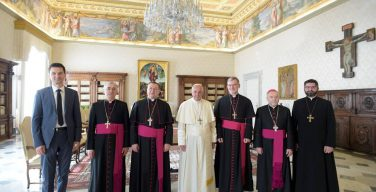 Папа – епископам России: будьте рядом с людьми