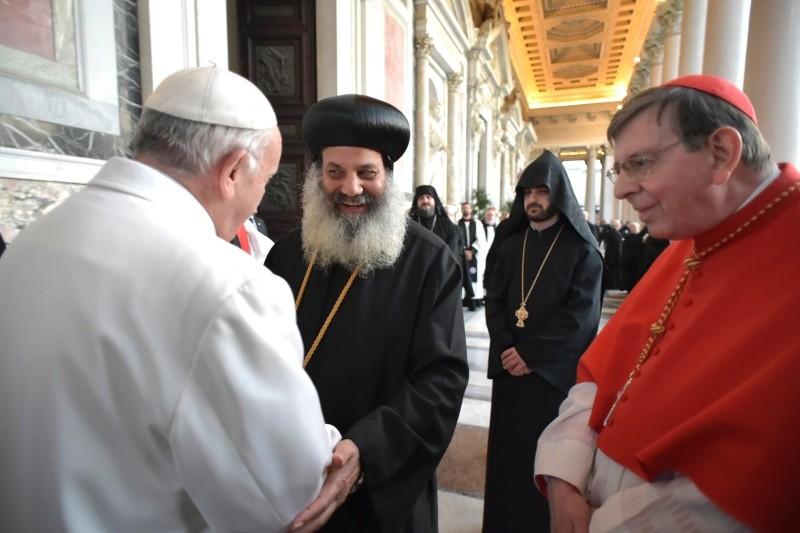Папа Франциск: будем делиться с братьями Божьей благодатью