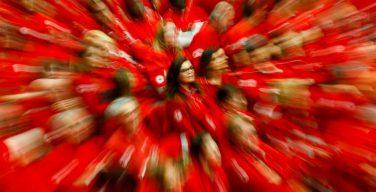Папа — волонтёрам «Красного Креста»: склониться над любым, кто окажется в нужде