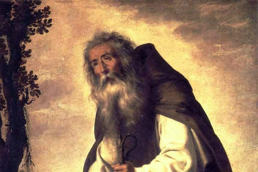 17 января. Святой Антоний Великий, авва. Память