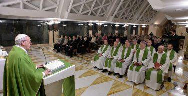 Папа на Мессе с российскими иерархами: пастыри должны нести людям нежность и близость Иисуса