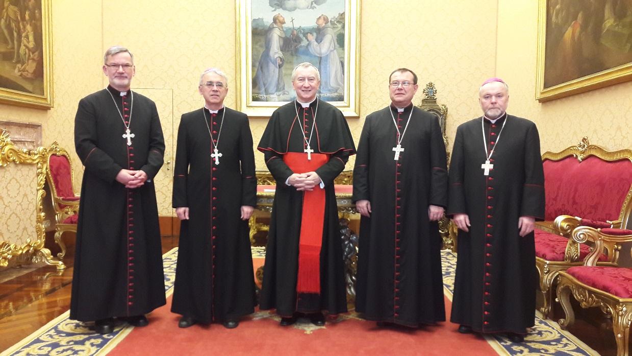 Завершился римский «Визит к порогам» католических епископов из России