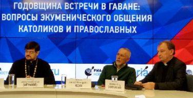Годовщина встречи в Гаване: пресс-конференция по вопросам диалога католиков и православных