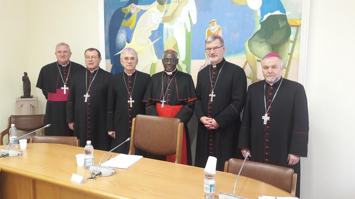 Новые подробности визита российских епископов ad limina в Рим (ФОТО)