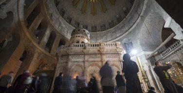 Храм Гроба Господня открылся опять