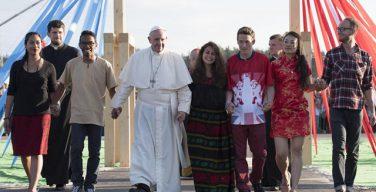 Опубликовано Послание Папы Франциска на очередной Всемирный День Молодежи