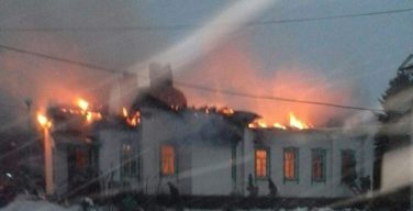 Католики Казахстана помогают восстановить сгоревший православный храм