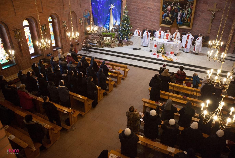 Празднование Сретения Господня и Дня посвященной Богу жизни в Кафедральном соборе Новосибирска