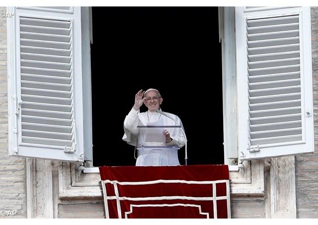 Слово Папы Франциска перед молитвой «Ангел Господень» в 5-е воскресенье Великого Поста. 18 марта 2018 г., площадь Св. Петра