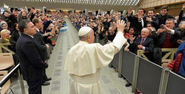 На общей аудиенции в последний день февраля Папа Франциск продолжил наставление о Евхаристии