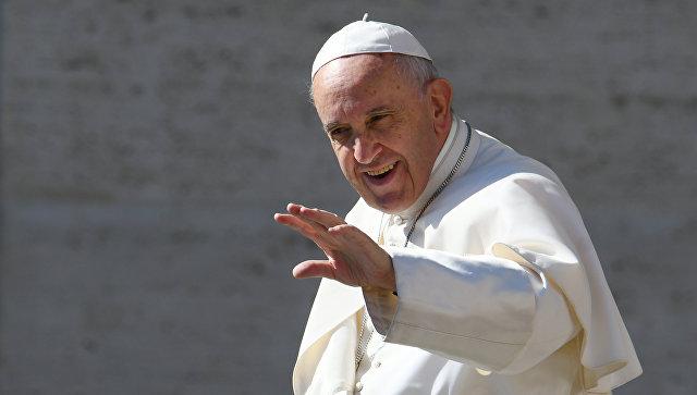 Папа Римский выпустил книгу «Бог молод»