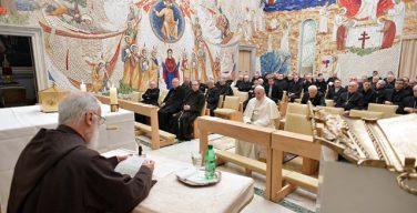 Проповедник Папского Дома посвятил очередную великопостную проповедь стяжанию смирения