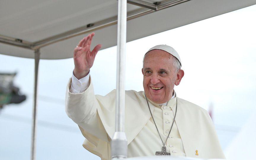 Как относятся к Папе Франциску в США?