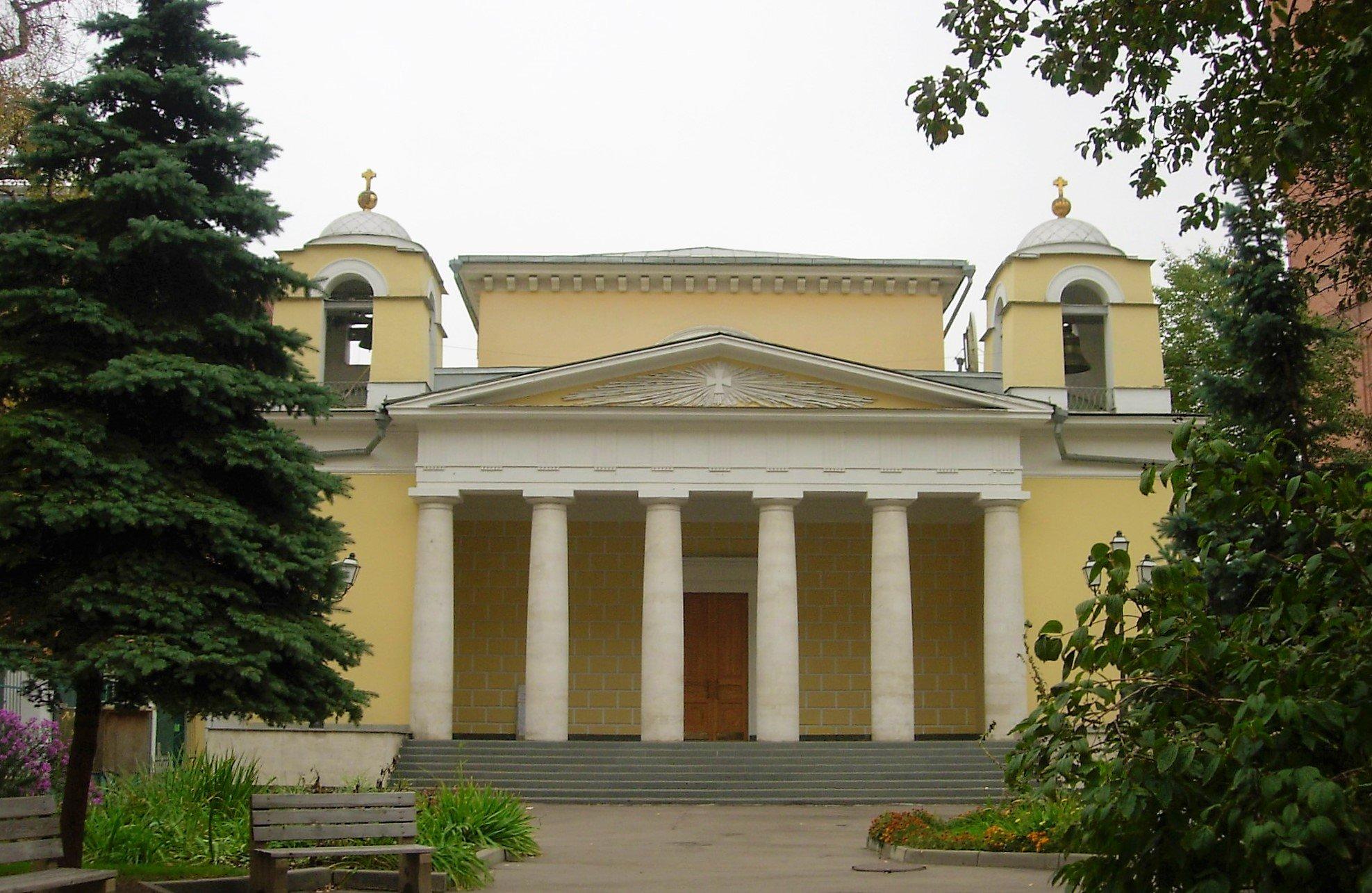 Храм Св. Людовика на Малой Лубянке отреставрируют