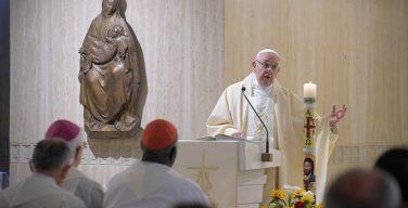 Папа Франциск на Мессе в Доме Св. Марфы: наш жизненный путь ведет к встрече с Христом в вечности