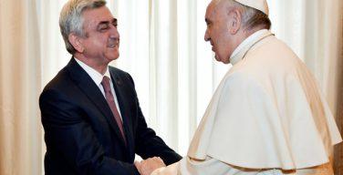 Папа встретился с президентом Республики Армения и армянскими иерархами