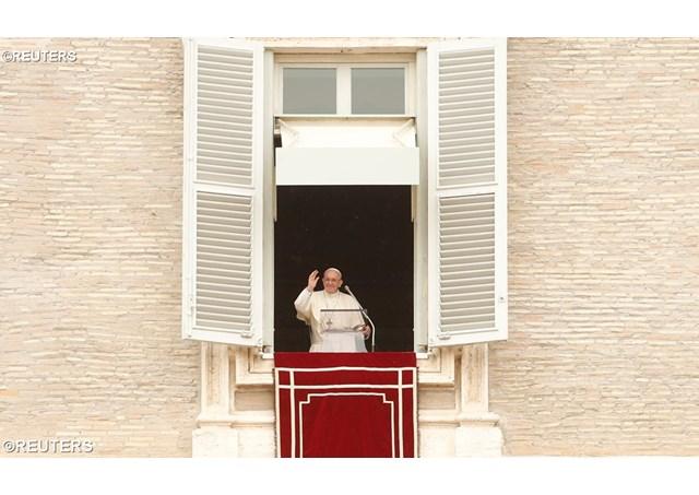 Слово Папы Франциска перед молитвой Regina Caeli в 3-е воскресенье Пасхи. 15 апреля 2018 г., площадь Св. Петра