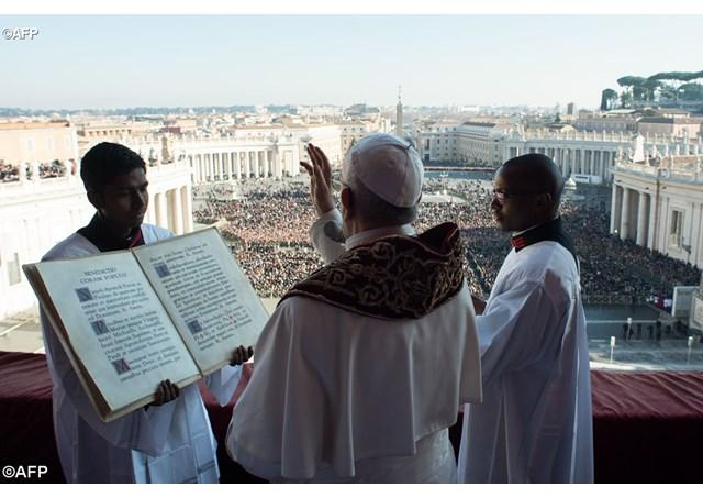 Пасхальное послание Папы Франциска «Urbi et Orbi» («Граду и Миру»)