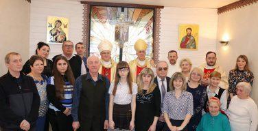 Фотовехи визита архиепископа Челестино Мильоре и епископа Иосифа Верта на Север Кузбасса