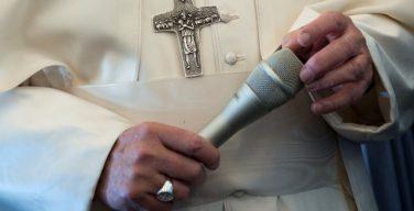 Папа Франциск дал ряд советов католическим журналистам
