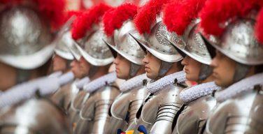 Папа – Швейцарским гвардейцам: оставайтесь всегда с Христом