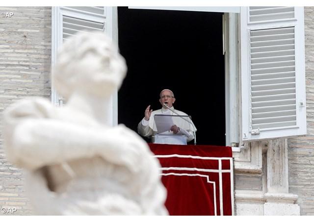 Слово Папы перед молитвой Regina Caeli в торжество Вознесения Господня. 13 мая 2018 г., площадь Св. Петра