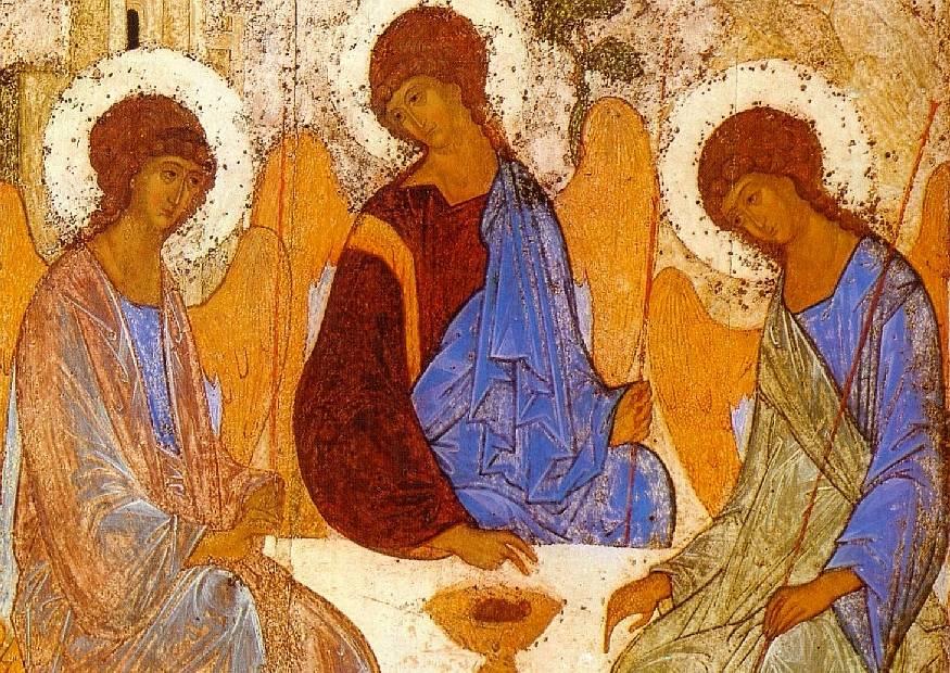 «Священная тишина Троицы» (размышления об иконе святого Андрея Рублева)