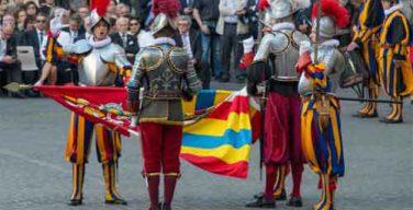 Новые гвардейцы Папы принесли присягу, а численность Папской гвардии будет увеличена