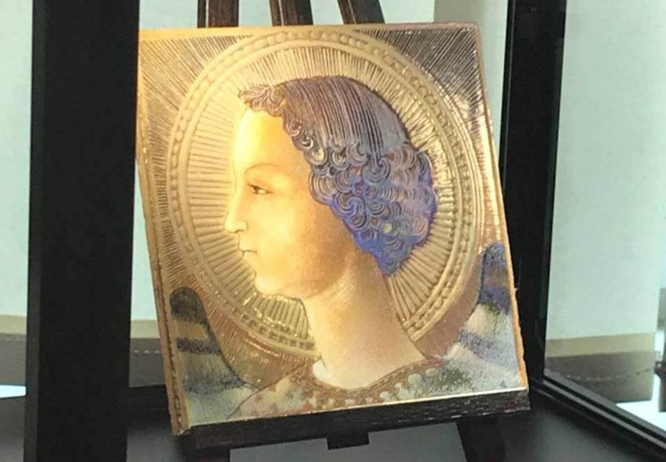В Риме презентовали самую раннюю работу да Винчи — изображение библейского персонажа