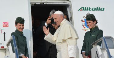 Папа Франциск начал свой экуменический визит в Женеву