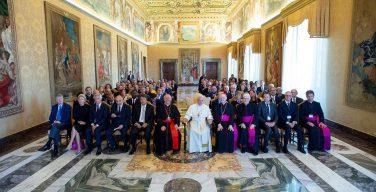 Папа встретился с членами фонда «Gravissimum Educationis»