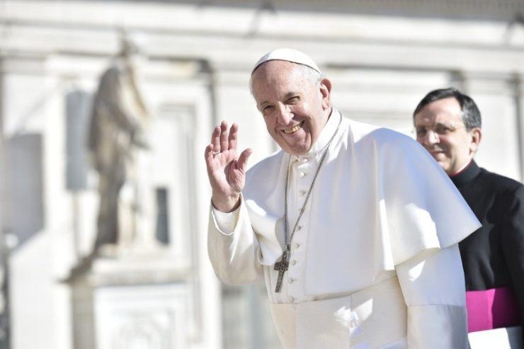 Папа Франциск на общей аудиенции 6 июня размышлял о даре Духа Святого