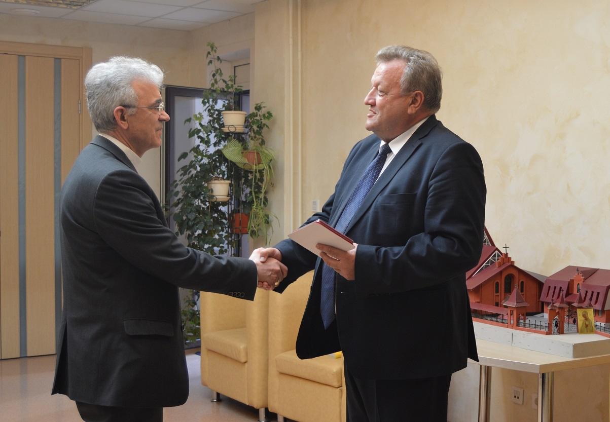 Ординарию Преображенской епархии вручена почетная награда в связи с юбилеем города Новосибирска