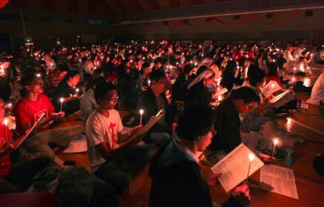 В Гонконге христианская экуменическая община Taize проводит неделю молитв за доверие и примирение во всем мире