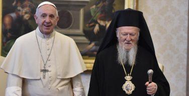 Папа Франциск направил Константинопольскому Патриарху Варфоломею I послание по случаю Международного симпозиума по охране окружающей среды